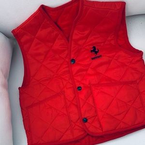 Authentic Ferrari Vest for Boys
